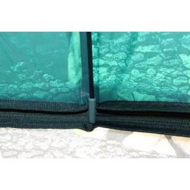 Terepszínú sátras PVC horgászernyő
