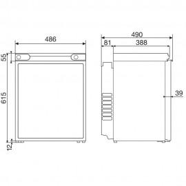 Dometic CombiCool RF 60 abszorpciós hűtő 61L